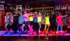 jenn's 80's party